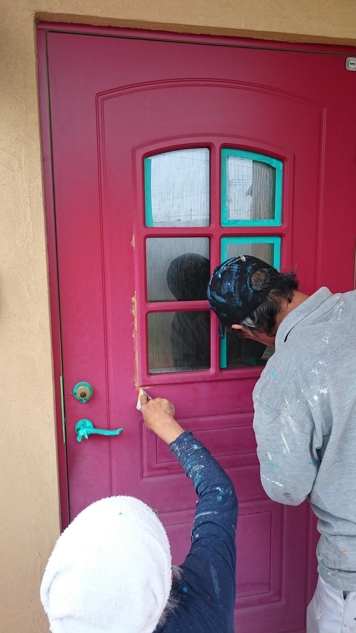 ドアのメンテ_c0066693_143134.jpg