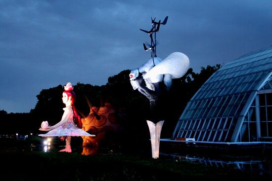 植物園ライトアップ_e0048413_2126264.jpg