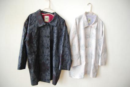 着物リメイク・大島のジャケットコート_d0127925_18113127.jpg
