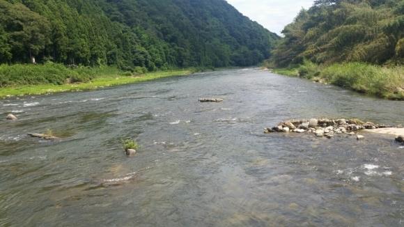 8月28日   河川状況。_c0266737_12404477.jpg