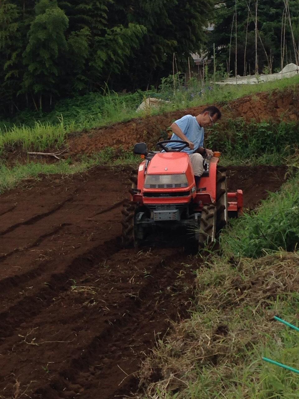 適度な雨で 土が潤いました 播種や畝作りを始めます 畑直蒔きの畝やパレット蒔きの様子_c0222448_14301978.jpg