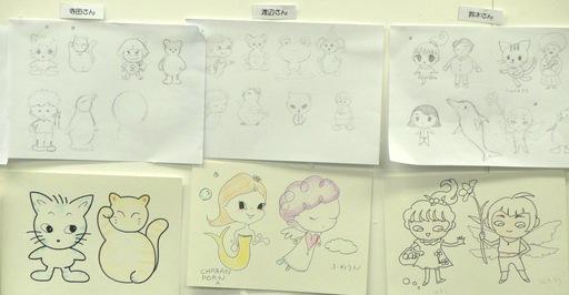 東京キャラクターアート学院のプレ講座_e0082852_23462953.jpg
