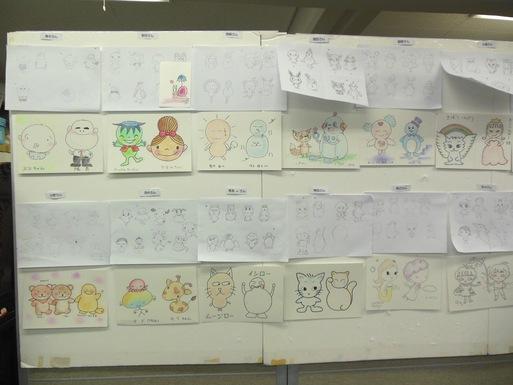 東京キャラクターアート学院のプレ講座_e0082852_2346541.jpg