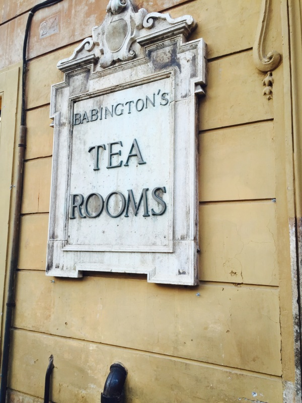 Babington\'s  English tea rooms   (ローマのティールーム)_c0366777_05254165.jpg
