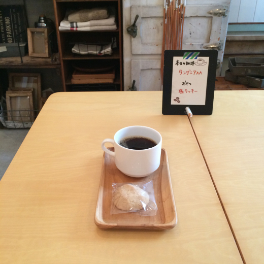 本日のoneday cafe。_a0164280_22095496.jpg