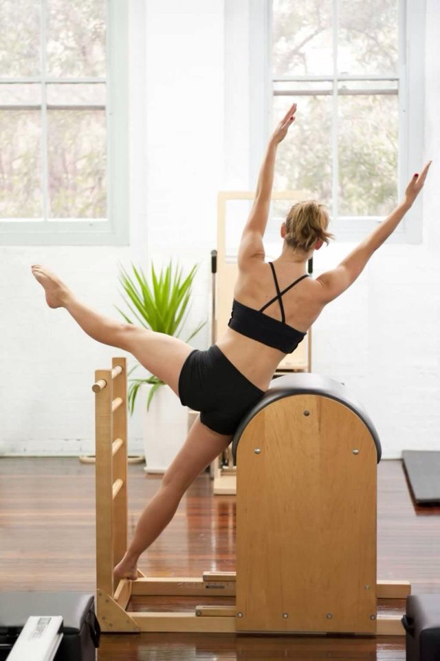 ピラティス -pilates- #Ladder Barrel_c0362789_16310711.jpg