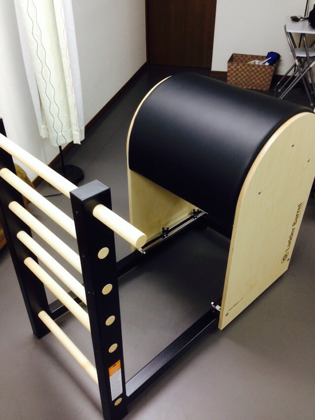 ピラティス -pilates- #Ladder Barrel_c0362789_16310713.jpg