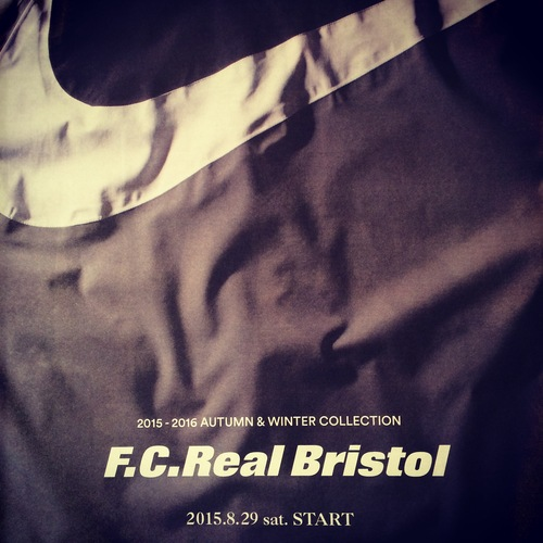 F.C.R.B. 2015 A/W COLLECTION まもなく開幕!!_c0079892_1945281.jpg