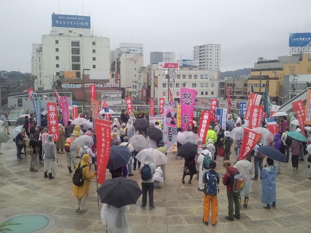 8・29いわき駅前集会_d0155415_16273751.jpg