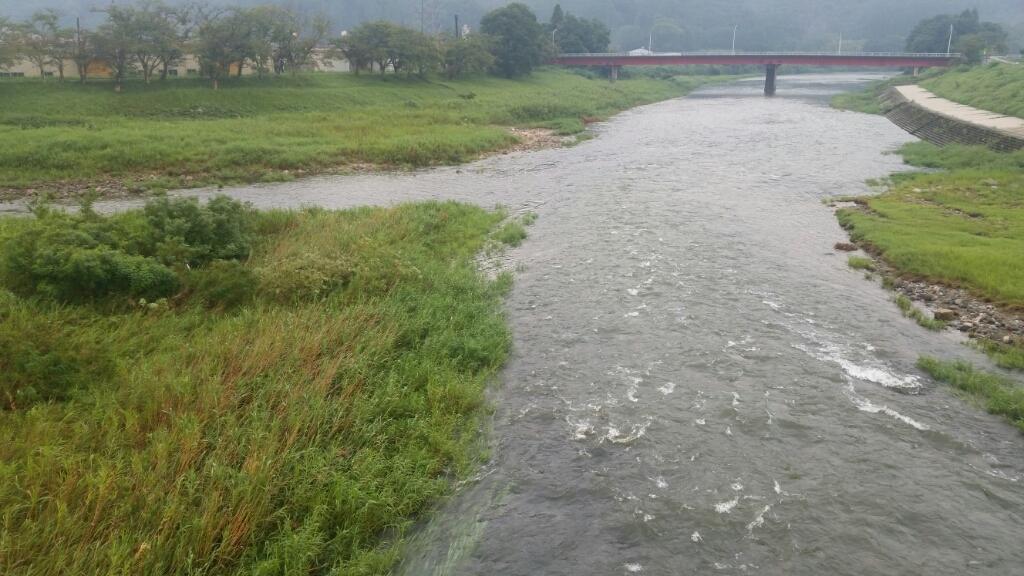 8月29日  河川状況。_c0266737_06312171.jpg