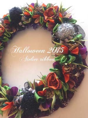 Halooween Wreath2015*Spooky fall forest wreath*_f0017548_13045047.jpg