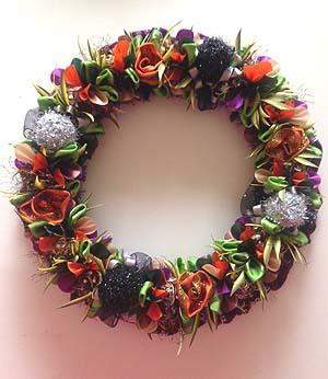 Halooween Wreath2015*Spooky fall forest wreath*_f0017548_13063166.jpg
