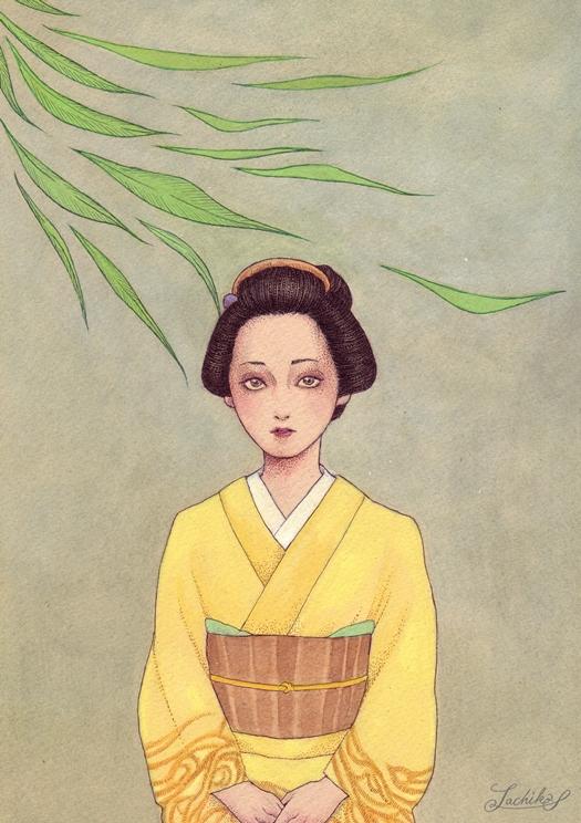 柳橋物語 <つれづれイラストレーション55>_f0228652_20334033.jpg