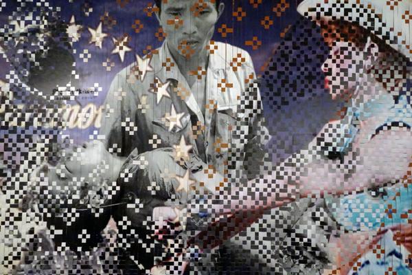 ディン・Q・レ展:明日への記憶 Dinh Q. Lê: Memory for Tomorrow 森美術館(1)_f0117059_123548100.jpg