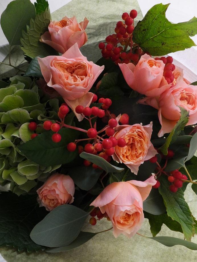 オークリーフ(キャットショーの花束)_f0049672_13304550.jpg