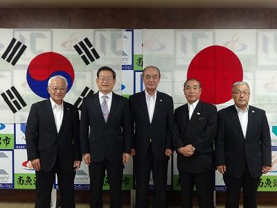 趙韓国総領事歓迎レセプション_f0019487_14172373.jpg