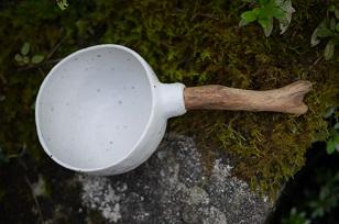 ①流木のマグカップと陶製マグカップ=長野県・G&MWorks_f0226293_919352.jpg