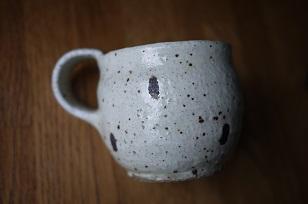 ①流木のマグカップと陶製マグカップ=長野県・G&MWorks_f0226293_9223713.jpg