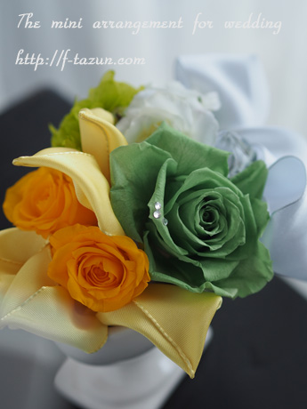 【Green/Yellow/Wedding gift】_d0144095_1548343.jpg