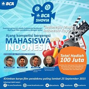 インドネシアの大学生短編映画コンテスト:BCA Shovia 2015_a0054926_9391878.jpg
