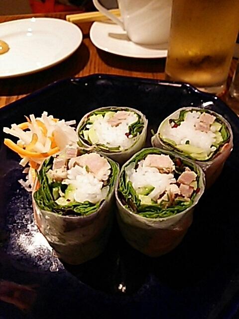 姪とベトナム料理の晩御飯_c0124528_06461065.jpg