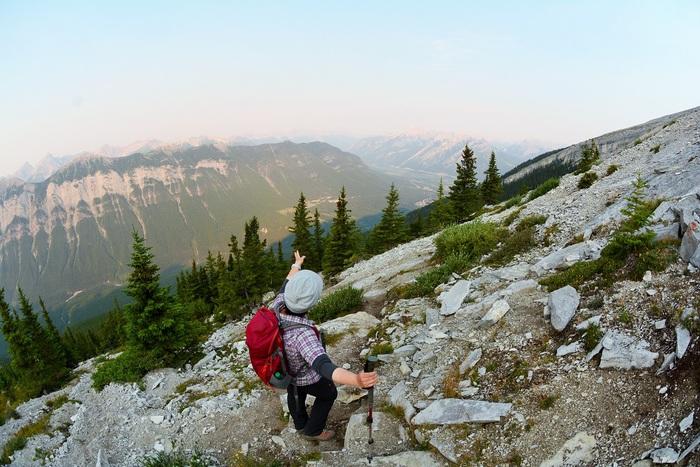 カナダの大ファン! 森様 Mt.ランドル (2948m) 登頂。_d0112928_4451238.jpg