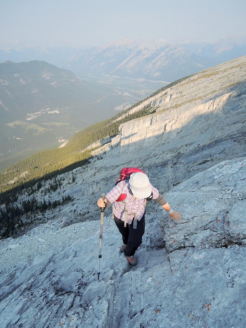 カナダの大ファン! 森様 Mt.ランドル (2948m) 登頂。_d0112928_4481561.jpg
