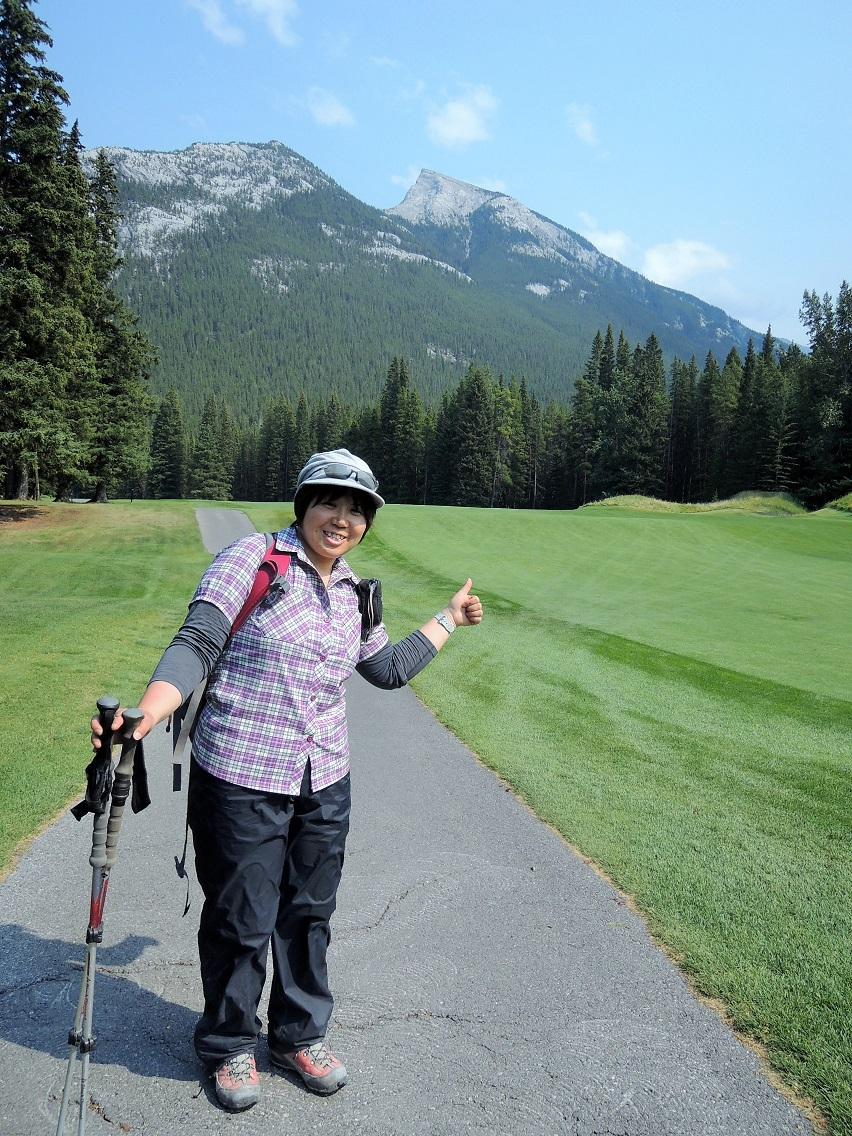 カナダの大ファン! 森様 Mt.ランドル (2948m) 登頂。_d0112928_4493942.jpg