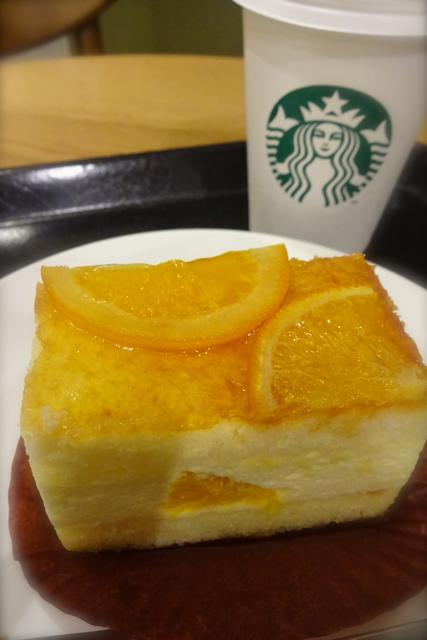 *スタバ* 〜オレンジシブースト〜_f0348831_12285135.jpg
