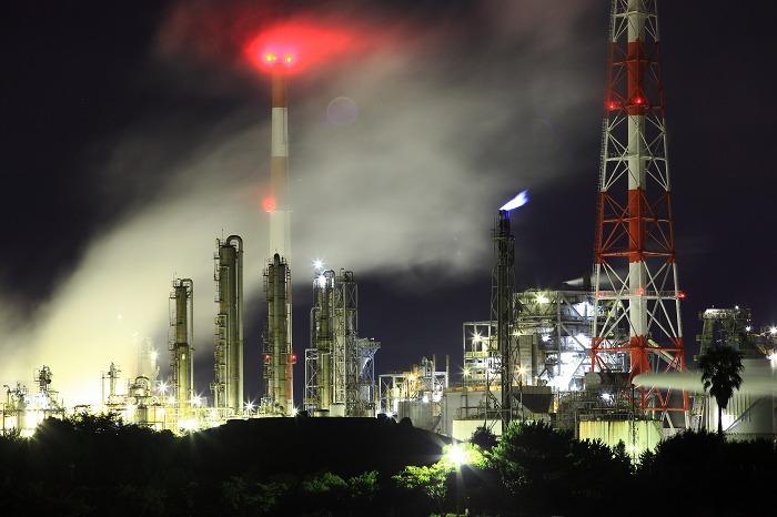 工場夜景 ダイセル化学_a0294534_1510289.jpg