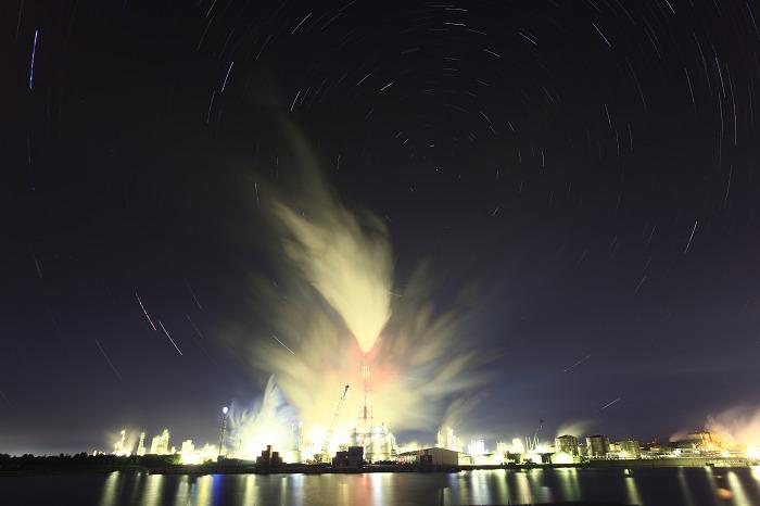工場夜景 ダイセル化学_a0294534_15122088.jpg
