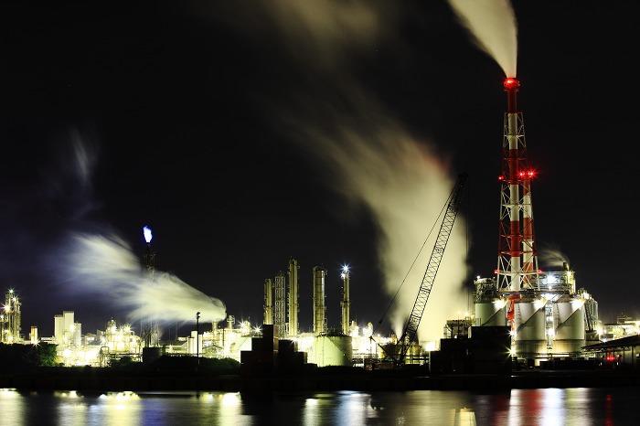 工場夜景 ダイセル化学_a0294534_1583912.jpg