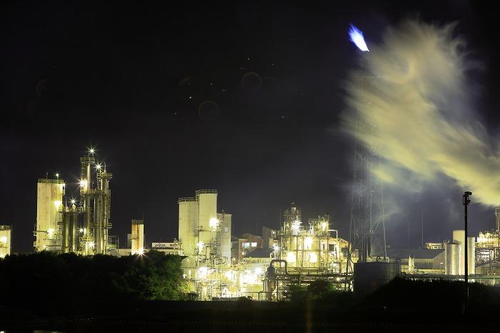 工場夜景 ダイセル化学_a0294534_1593869.jpg