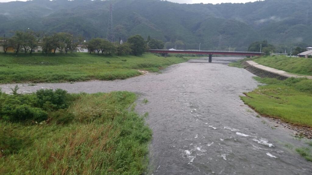 8月30日   河川状況。_c0266737_06222468.jpg