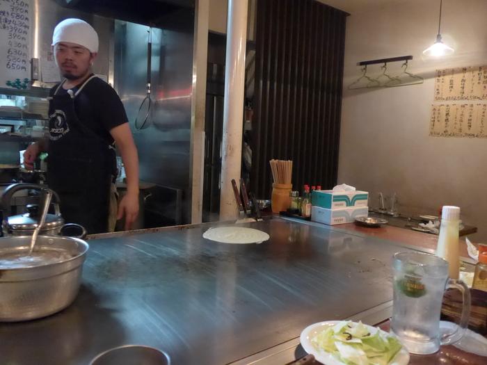西荻窪「広島流お好み焼き カンラン」へ行く。_f0232060_15433986.jpg