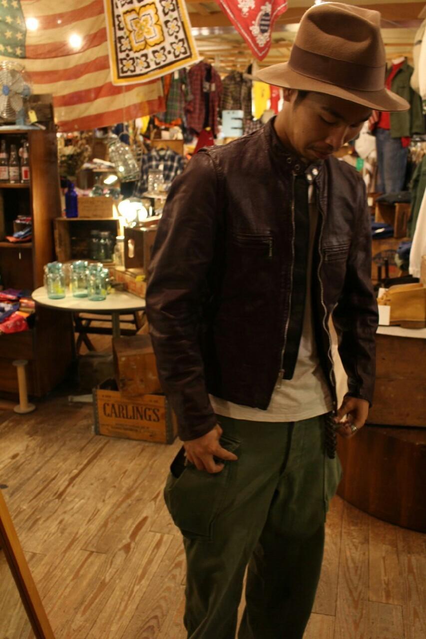 leatherjacket & スタジャン_a0108963_01033806.jpg