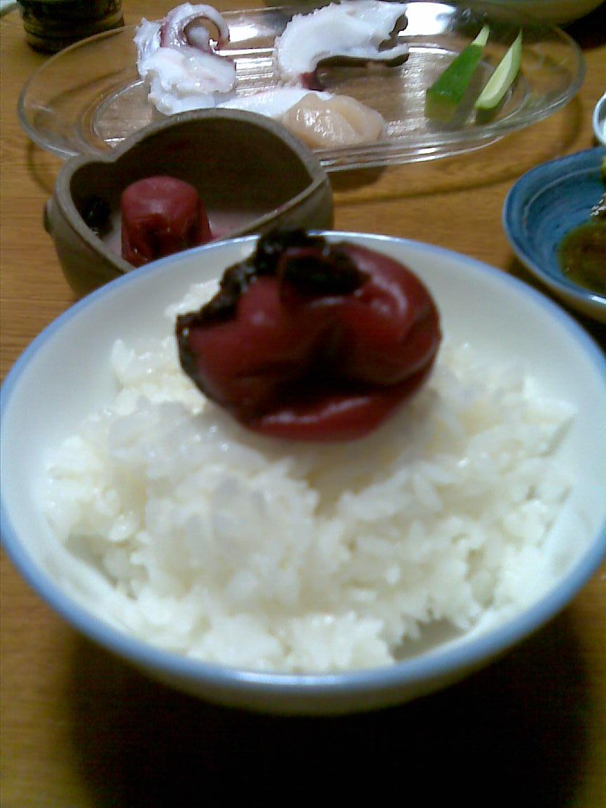 叔父宅で久々に白飯美味かった_d0061678_2333429.jpg
