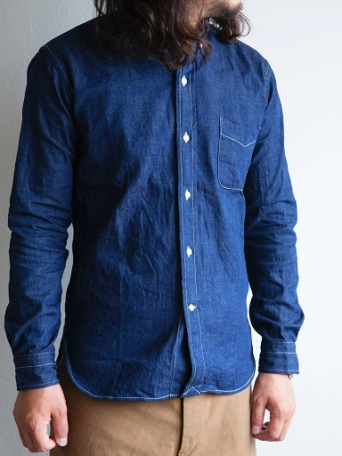 DENIM B.D.SHIRT _d0160378_16221227.jpg