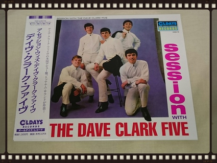 THE DAVE CLARK FIVE / A SESSION WITH THE DAVE CLARK FIVE 紙ジャケ _b0042308_18444673.jpg
