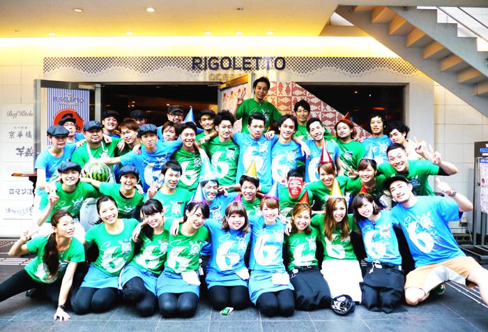 【6周年】ご参加ありがとうございました☆THE RIGOLETTO OCEAN CLUB☆横浜リゴレット記念撮影→_b0032617_13103396.jpg