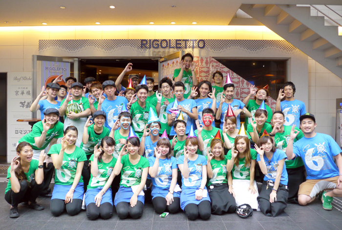 【6周年】ご参加ありがとうございました☆THE RIGOLETTO OCEAN CLUB☆横浜リゴレット記念撮影→_b0032617_1395310.jpg