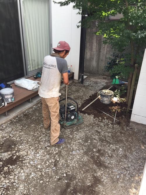 近況にアップします。宮崎市S様garden renovation_b0236217_21254710.jpg