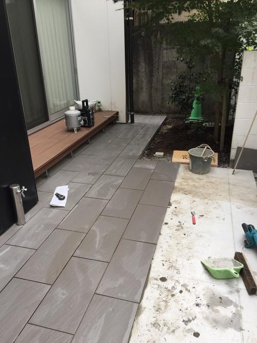 近況にアップします。宮崎市S様garden renovation_b0236217_21271587.jpg