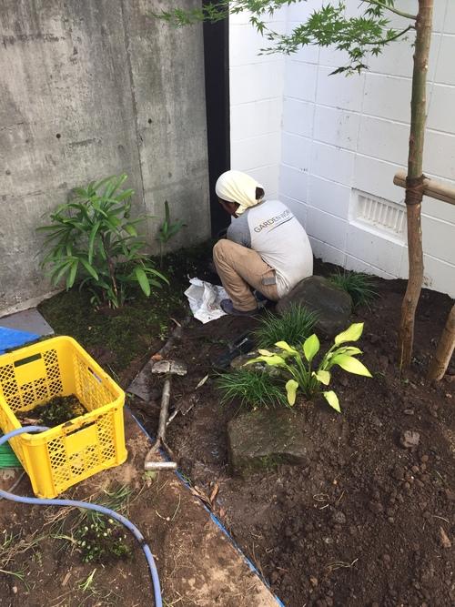 近況にアップします。宮崎市S様garden renovation_b0236217_21284890.jpg