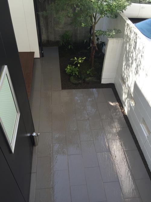 近況にアップします。宮崎市S様garden renovation_b0236217_21293520.jpg