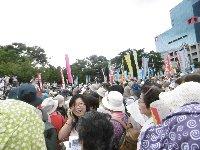 国会12万人、大阪は2万5千人の大集会!戦争法案廃案の1点で集まり声をあげました!(*^^*)_c0133422_04081.jpg