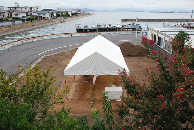 <海を望む>プロジェクト 地鎮祭!_c0225122_11464414.jpg