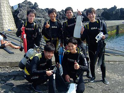 今日は「グループ体験ダイビング」DAYでした(^O^)_b0189640_77533.jpg
