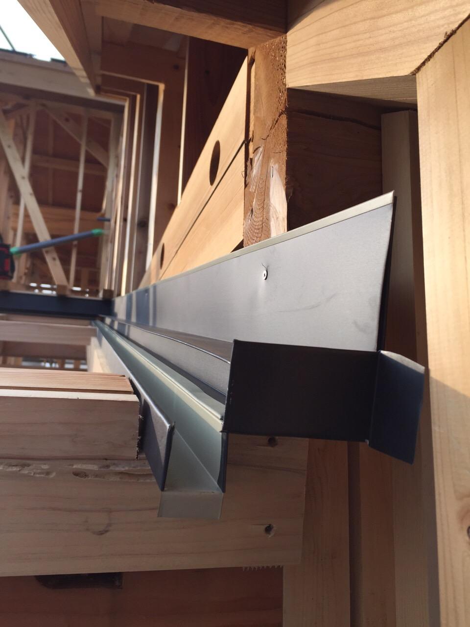 「大屋根の家」進捗状況です。8/28_e0215179_10432520.jpg