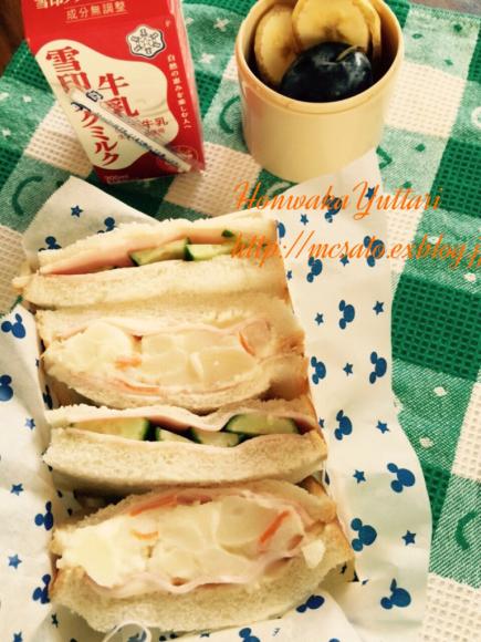 サンドイッチのお弁当_f0296683_11354656.jpg